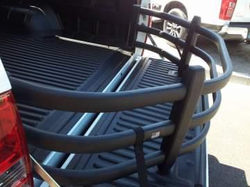 Extension de benne sur véhicule 4x4 avec couvre benne proche des Landes