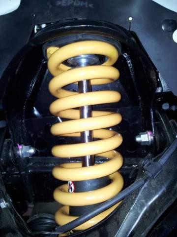 Renfort de suspension avant sur véhicule 4x4 proche du Cap Ferret