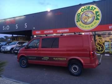 Préparation, rehausse véhicule Volskwagen avec suspension et accessoires Seikel proche Bordeaux
