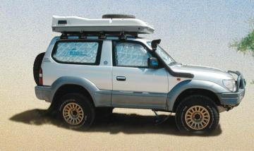 Ou commander un Kit isolation de vitres James Baroud pour véhicule 4x4 proche Audenge