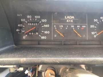Vente d'un 4x4 Lada Niva d'occasion de 2007 pour pièces vers Bordeaux à Biganos