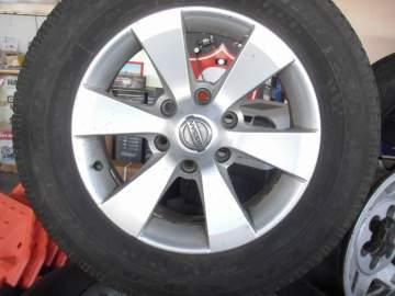 Vente de 4 pneus occasion Goodyear + jantes pour Nissan 4x4 Biganos proche Bassin d'Arcachon