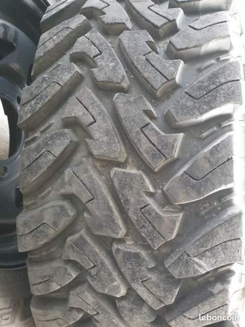 Achat de pneus et Jantes pour véhicule 4x4 proche Sanguinet