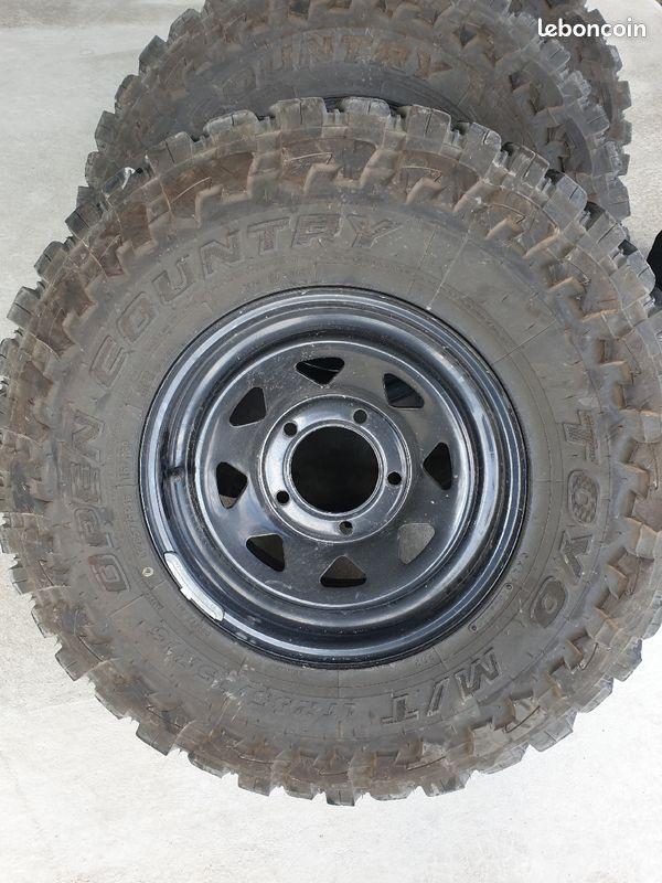 En vente pneus toutes tailles pour véhicule 4x4 proche Langon