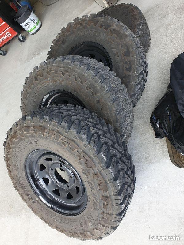 Acheter des pneus pour véhicule 4x4 dans le Bassin d'Arcachon